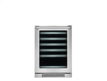 24'' Under-Counter Wine Cooler with Right-Door Swing
