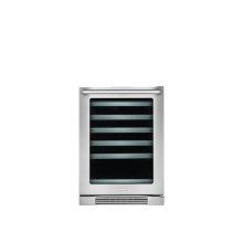24'' Under-Counter Wine Cooler with Right-Door Swing