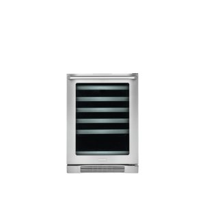 24'' Under-Counter Wine Cooler with Right-Door Swing -