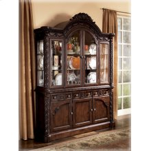 Dining Room Buffet North Shore - Dark Brown Collection Ashley at Aztec Distribution Center Houston Texas