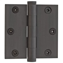 Oil-Rubbed Bronze Square Corner Hinge