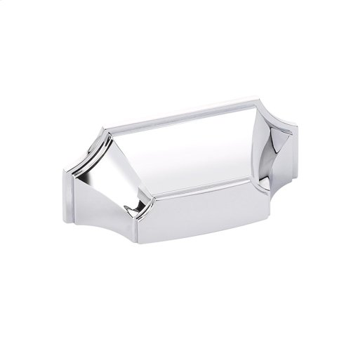 """Empire, Cup Pull, 3"""" cc, Polished Chrome finish"""