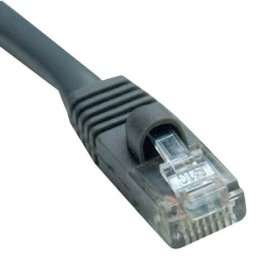 Cat5e 350MHz Outdoor-Rated Molded Patch Cable, (RJ45 M/M) - Gray, 150-ft.