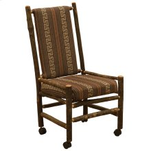 Executive Chair - Natural Hickory - Customer Fabric