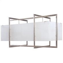 Double Cube Chandelier - Flat - C405 Silicon Bronze Brushed