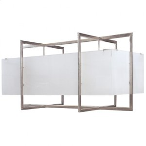 Double Cube Chandelier - Flat - C405 Silicon Bronze Brushed Product Image