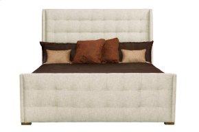 King-Sized Soho Luxe Upholstered Sleigh Bed in Soho Luxe Dark Caramel (368)