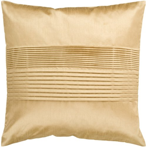 """Solid Pleated HH-022 22"""" x 22"""" Pillow Shell with Down Insert"""