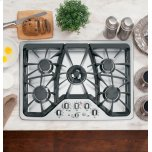 "GE CafeGE CAFEGE Cafe(TM)  30"" Built-In Gas Cooktop"