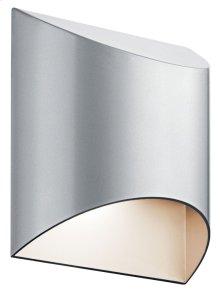 Wesly 1 Light LED Wall Light Platinum