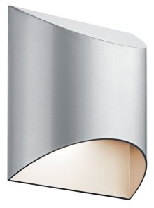 Wesly 1 Light LED Wall Light Platinum