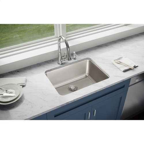 "Elkay Lustertone Classic Stainless Steel 25-1/2"" x 19-1/4"" x 10"", Single Bowl Undermount Sink"