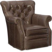 Bradington Young Kirby Swivel Tub Chair 8-Way Tie 363-25SW Product Image