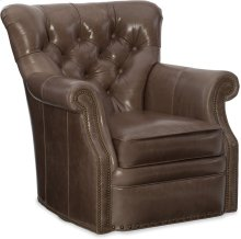 Bradington Young Kirby Swivel Tub Chair 8-Way Tie 363-25SW