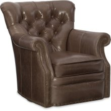 Bradington Young Kirby Swivel Tub Chair 8-Way Tie 363-25SW