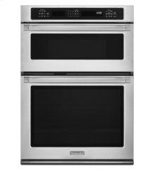 30'' Convection Combination Microwave Wall Oven, Pro Line® Series - Stainless Steel