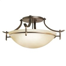 Olympia 3 Light Semi Flush Olde Bronze®