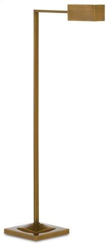 Ruxley Brass Floor Lamp