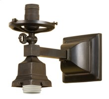 """4.5""""W Revival Gas & Electric Wall Sconce"""
