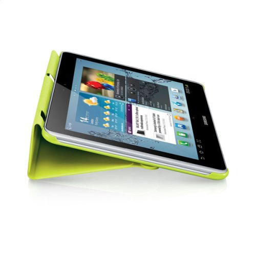 Galaxy Tab 2 10.1 Magnetic Book Cover, Lime Green