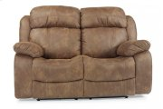 Como Fabric Reclining Loveseat Product Image