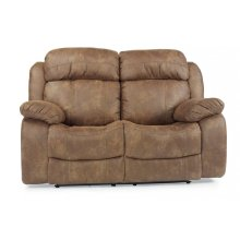 Como Fabric Reclining Loveseat