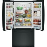 Ge(r) Energy Star(r) 18.6 Cu. Ft. Counter-Depth French-Door Refrigerator