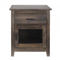 Solid Mango Wood Accent Chest Product Image