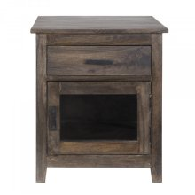 Solid Mango Wood Accent Chest