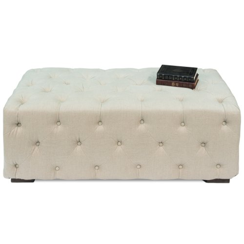 Small Tufted Bench
