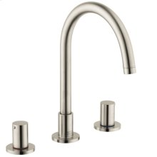 Brushed Nickel Uno Widespread Faucet, 1.2 GPM
