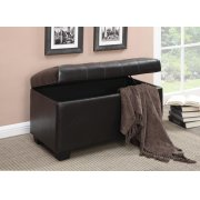 Casual Dark Brown Ottoman Product Image