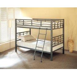 Contemporary Metal Bunk Bed