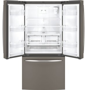 24.8 cu.ft. French Door Bottom-Mount, w/Factory Installed Icemaker