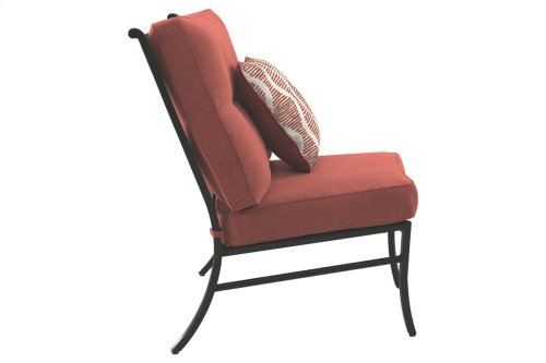 Armless Chair w/Cushion (1/CN)