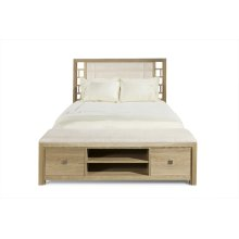Scottsdale Uph Bed/Storage Footboard