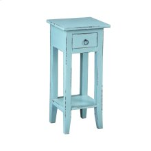 CC-TAB1792LD-BB  Cottage Accent Table  Beach Blue