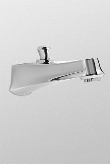 Brushed Nickel Wyeth™ Diverter Wall Spout