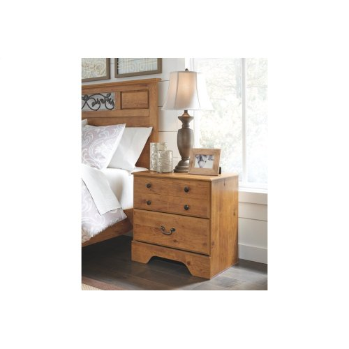 Bittersweet Two Drawer Night Stand
