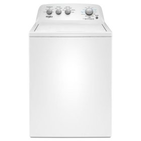 Whirlpool® 3.8 cu. ft. Top Load Washer with Soaking Cycles, 12 Cycles - White