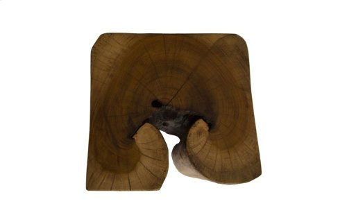 Hadkanon Wood Stool, Square
