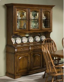 Classic Oak Large China Buffet Product Image