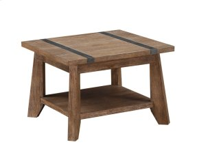 Emerald Home Viewpoint End Table Driftwood T977-1