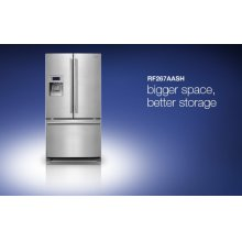 RF267AASH (25.5 cu.ft. stainless)