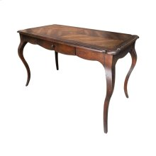 Downington Abbey Desk Aged Brown Sugar English Country Manor Desk