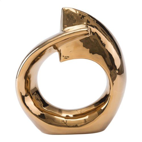 Golden Ring Figurine Gold
