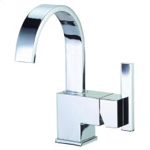 Chrome Sirius® Single Handle Lavatory Faucet
