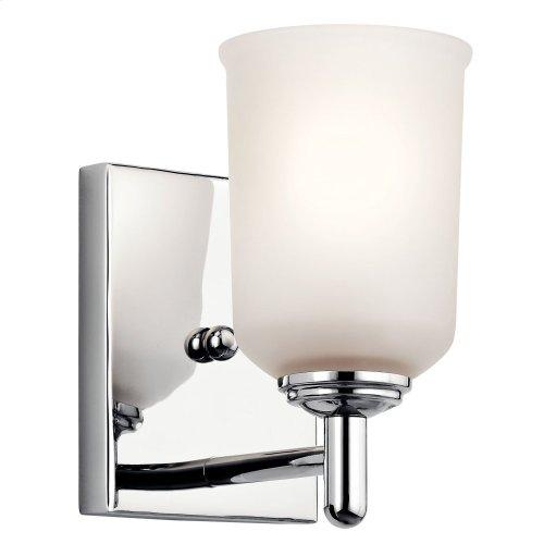 Shailene 1 Light Wall Sconce Chrome