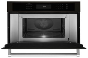 "30"" Built In Microwave Oven with Convection Cooking - Black Stainless - OPEN BOX MODEL"