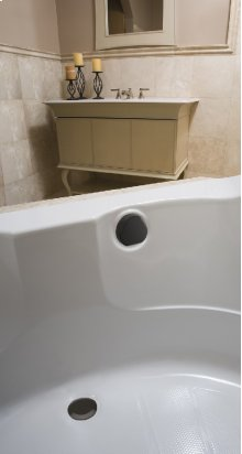 """TurnControl Bath Waste and Overflow A dazzling turn Brass - Hard-coat oil rubbed bronze Material - Finish 17"""" - 24"""" Tub Depth* 27"""" Cable Length"""